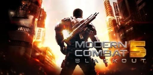 Resultado de imagem para Modern Combat 5: Blackout